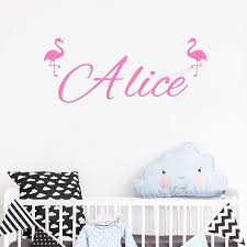 Name Wall Decal Personalized Wall Sticker Boys Girls Decal Nursery Decor Vinyl Wall Decal Beauty Salon Wall Decals Se045 Wall Stickers Aliexpress