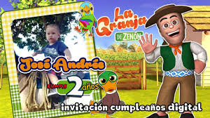 La Granja De Zenon Video Invitacion Virtual Youtube