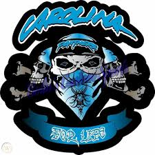Team Vinyl Decal Size 12x12 Nfl Themed Skull For Life Window Wall Windshield 1820127834