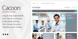 Cacoon - Responsive Business WordPress Theme by BruteCreative ...