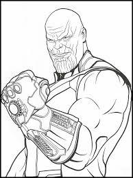 Avengers Endgame Kleurplaat Printen 34