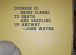 Courage John Wayne Quote Wall Decor Vinyl Sticker Decal For Sale Online Ebay