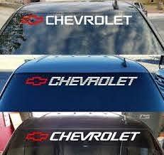 Chevy Trucks 1500 Window Sticker Bed Tailgate Vinyl Decal Chevrolet Silverado Hd Ebay