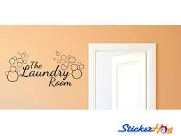 The Laundry Room Saop Bubbles Vinyl Wall Decal 3 Graphics Home Decor
