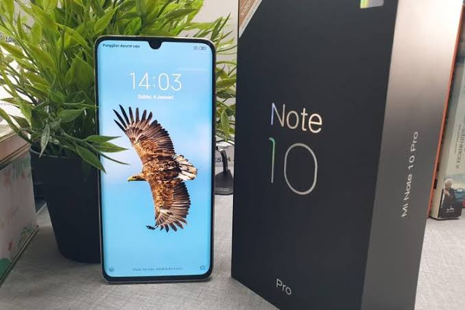 Image result for Xiaomi Mi Note 10 Pro""