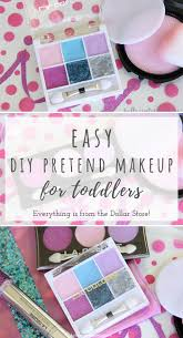 easy diy pretend makeup for toddlers