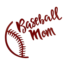 Amazon Com Custom Vinyl Baseball Mom Decal Baseball Ball Bumper Sticker For Tumblers Laptops Car Windows Personalized Sports Gift For Moms Handmade