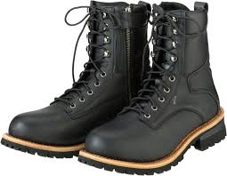 waterproof leather motorcycle riding boots
