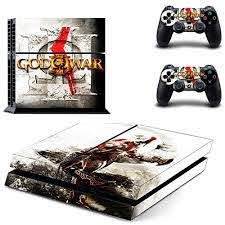 Elton God Of War Theme Skin Sticker Cover For Ps4 Console And Controllers Amazon In Video Games
