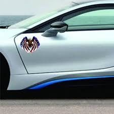 Newest Car Decal Flying Hawk Auto Truck Hood Side Eagle Usa Flag Sticker Car Accessories Car Styling Stickers Decals Diy Ca Car Stickers Aliexpress
