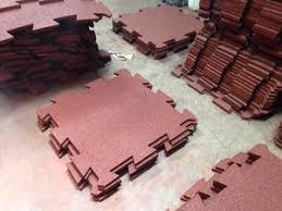 interlocking rubber tiles puzzle