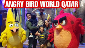 ANGRY BIRD WORLD QATAR || THEME PARK |