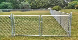 Residential Chain Link Fence Swing Gates Single Or Double