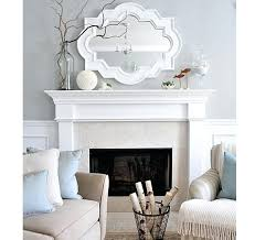 mirror for above fireplace mantel