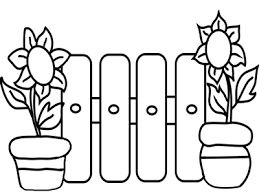 Clipart Black And White Fence Clip Art Library