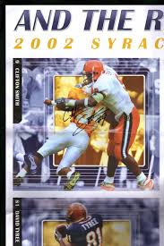 And the Rush Goes On - Vintage 2002 Large (35x24) Poster, Syracuse  University Football, Signed by 2 of 6 (Troy Nunes and Clifton Smith); David  Tyree, Will Hunter, Chris Davis, Mike Shafer: