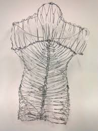 Abstract Wire Sculpture Year 11 Wire Sculpture Work Inspired By ...