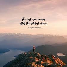 the best view comes after the hardest climb via ift tt