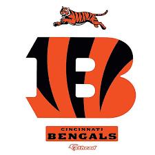 Fathead Nfl Cincinnati Bengals Logo Large Wall Decal Bed Bath Beyond