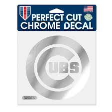 Chicago Cubs Wincraft 6 X 6 Chrome Decal