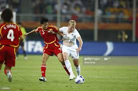 World Cup, New Zealand Wendi Henderson in action vs China Li Jie ,... News  Photo - Getty Images