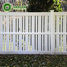 White Plastic Slats Semi Garden Lowes Panels Panels Vinyl Fence