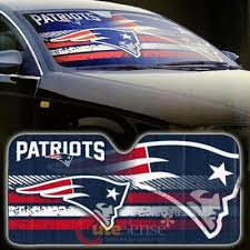Nba New England Patriots Car Windshield Front Window Sun Shade