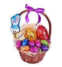 easter egg basket sending auckland