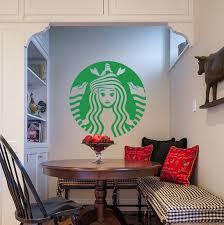 Little Mermaid Starbucks Logo Wall Decal The Decal Guru