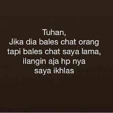 kata kata menunggu chat dari pacar