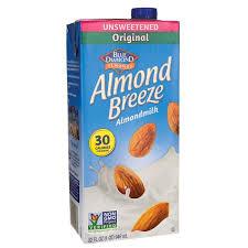 blue diamond almond milk almond