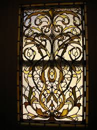 stained glass window for landmarked