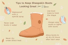 how to clean ugg sheepskin boots i