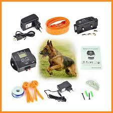 China Waterproof In Ground Rechargeable Pet Collar Electronic Wireless Remote Pet Dog Fence Containment System China Electronic Pet Fence System And Wireless Pet Fence System Price