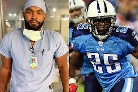 Former NFL Player Turned Doctor on Coronavirus Frontlines | PEOPLE.com