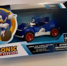 Sonic The Hedgehog Pullback Racer Car Knuckles For Sale Online Ebay