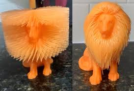3D printed Lion: Wild vs Tame : 3Dprinting
