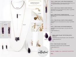 amethyst and gold grand cayman necklace