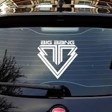 Kpop Big Bang Logo Car Sticker Decals Wish
