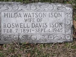 Sarah Hilda Watson Ison (1891-1945) - Find A Grave Memorial