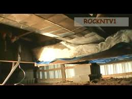 fix mobile home floor insulation diy