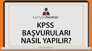 2017 KPSS Başvuruları Nasıl Yapılır? Videolu Anlatım - YouTube