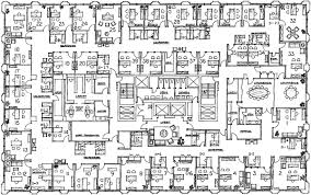 floor plan deled map of office
