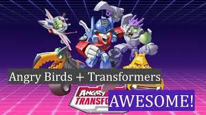 Angry Birds Transfomers - Kỷ nguyên mới của Angry Birds. - YouTube