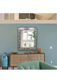luxe mosaic glass framed