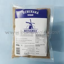 weissmill demerara sugar 400g
