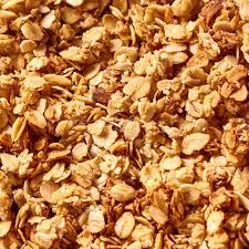 texture oatmeal granola or muesli as