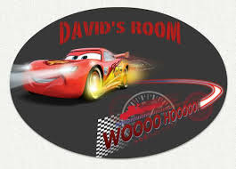 Disney Cars Whoosh Custom Wall Decal Wall Sticker Outlet