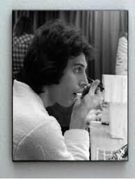 rare framed 1977 queen fred mercury