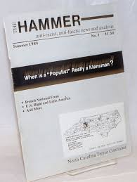 The Hammer; no. 7, Summer 1984 Anti-racist, anti-fascist news and ...